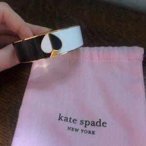 Black & White enamel Kate Spade New York bracelet